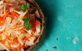Народный рецепт приготовления хрустящей квашеной капусты