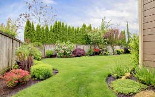 Применение бордюрной ленты на садовых участках