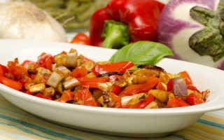 Рагу из баклажанов и сладкого перца — вкусная заготовка на зиму