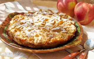 Шарлотка на сковороде – просто и вкусно