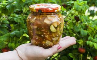 Огурцы в пряном маринаде (рецепт на 1 л воды)