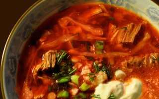 Рецепт заправки для вкусного борща: с помощью нее вы сможете быстро и без труда готовить любимый суп
