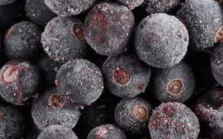 Заморозка черной смородины на зиму