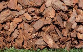 Мульча из коры: секреты изготовления и применения