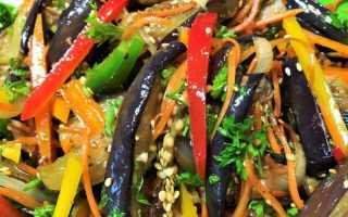 Салат из баклажанов «Вкуснотища» – быстро и сытно