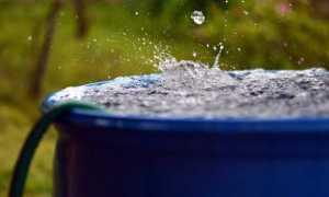 Как оставить бочки на зиму, не сливая воду