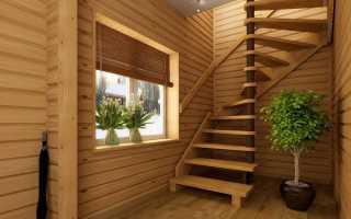 Лестница в дачном доме: виды, создание своими руками