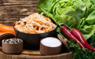Экспресс-рецепт квашеной капусты