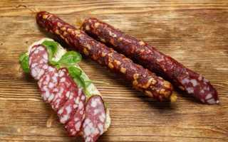 Можно ли есть сырокопченую колбасу с белым налетом?