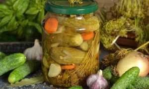 Хрустящий и пряный салат из огурцов «Пальчики оближешь» на зиму