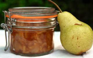 Рецепт вкуснейшего варенья из груш