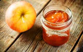 Яблочное варенье: рецепт приготовления и хранение