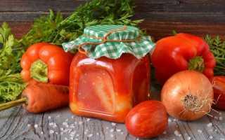 Перец в томате – вкусная и простая заготовка на зиму