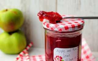 Джем из яблок и слив – вкусное лакомство на зиму